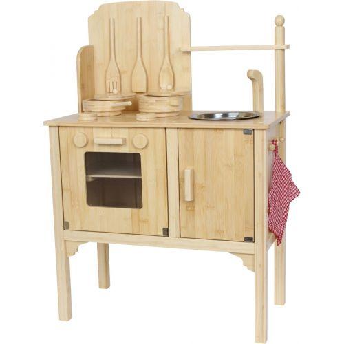 Cocinita de madera de Bambú