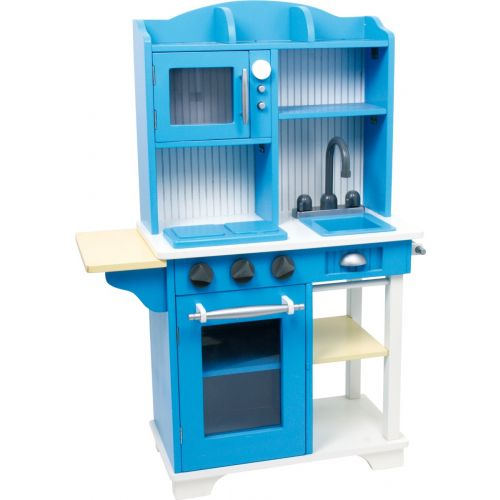 Cocinita de madera Azul - Juguete infantil