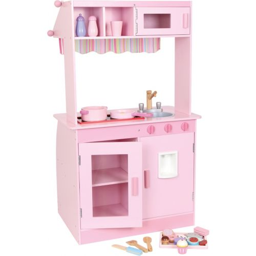 Cocinita de madera rosa Janina