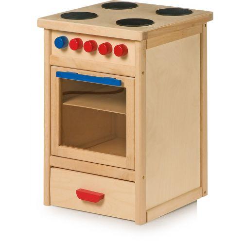 Cocinita de madera con Horno