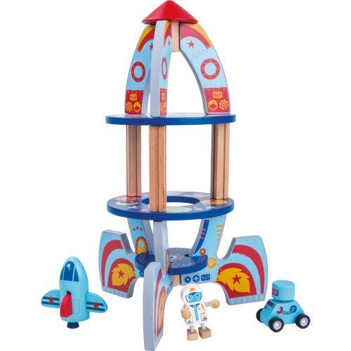 Cohete espacial de madera - Legler