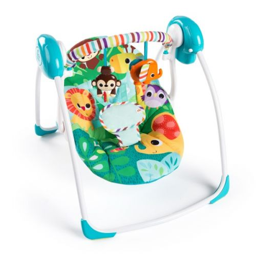 Columpio Portátil Bebés Safari Surprise - Bright Starts