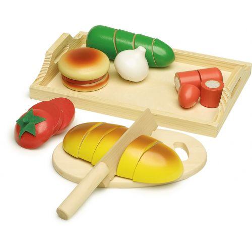 Corta Bocadillos - Juguete de madera