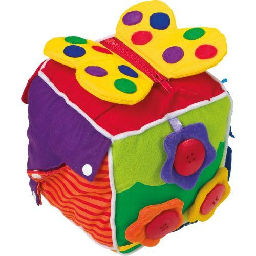 Cubo de tela  - Juguete para Bebés a partir de 0 meses
