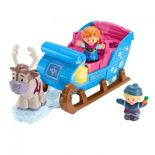 Fisher-Price Little People Disney Frozen El trineo de Kristoff