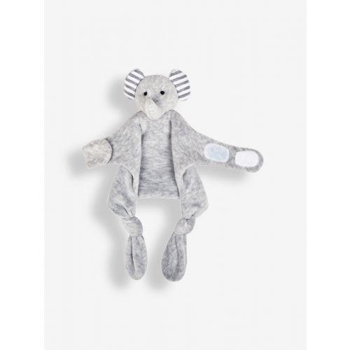 Doudou Sujetachupetes Elefante Gris