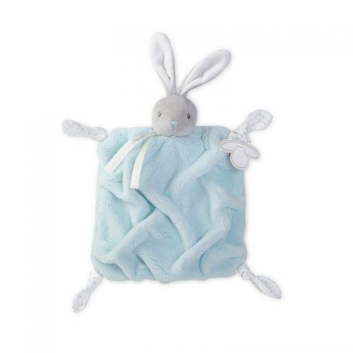 Doudou Conejo Kaloo Plume azul - 20 cm