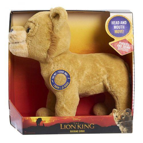 El Rey León Peluche Simba 33 cm con Sonidos