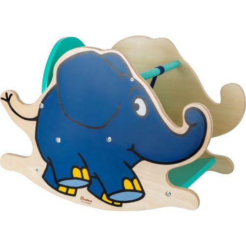 Elefante Balancín de Madera - A partir de 12 meses