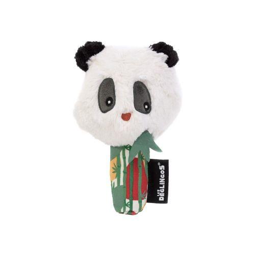 Peluche Espejo de descubrimientos Panda , Les Deglingos