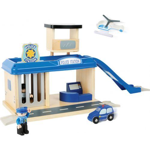 Estación de Policia de Madera - Legler - 12 piezas
