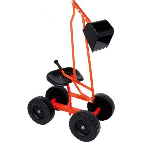 excavadora con ruedas
