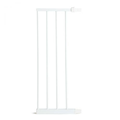 Extensión para puertas de seguridad 28 cm , color Blanco o Plata , Lindam