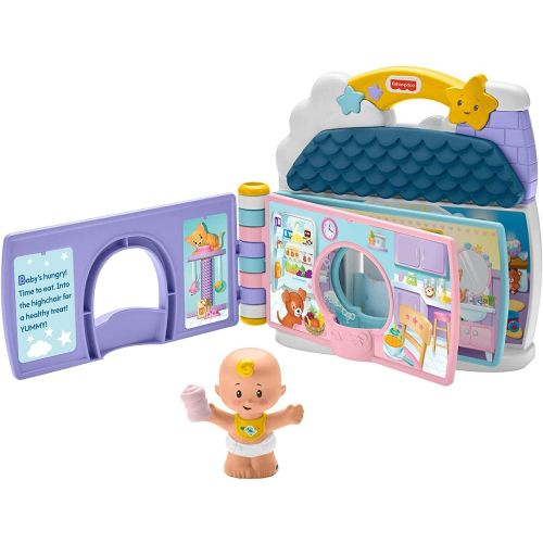 Fisher-Price Little People Babies Story Book Play Set
