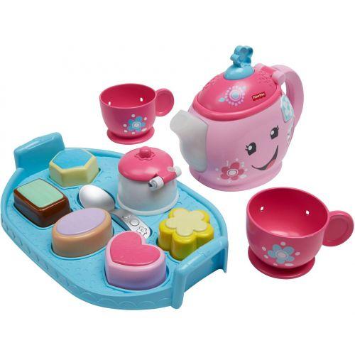 Fisher-Price - Juego de té, juego educativo para bebé - En Inglés