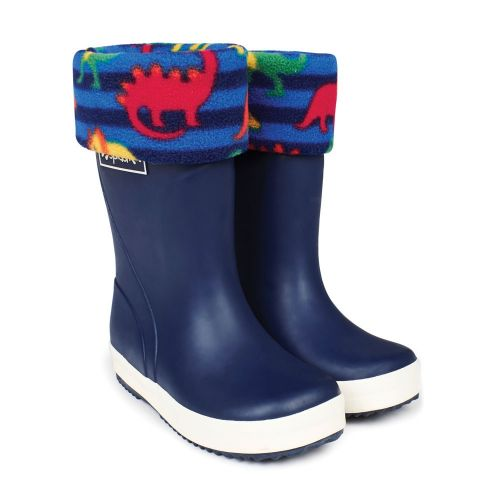 forro para botas de agua dinosaurios