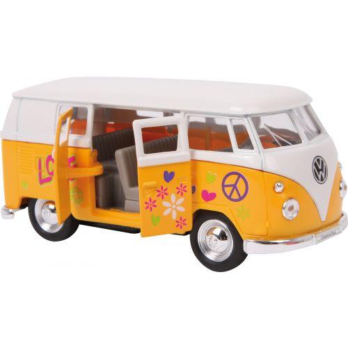 Furgoneta Volkswagen T1 62 - Amarilla , Escala 1:34