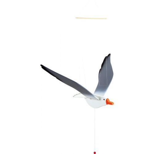 Gaviota de madera Voladora - 74 cm