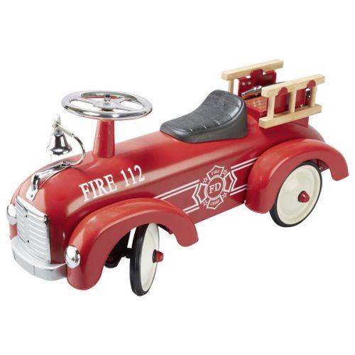 Correpasillos camión de bomberos Speedster, Coche con ruedas, Goki