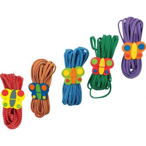 Goma de Saltar Mariposa - Set de 5 unidades