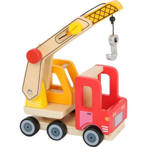 Grúa para la construcción - Juguete de madera - Legler