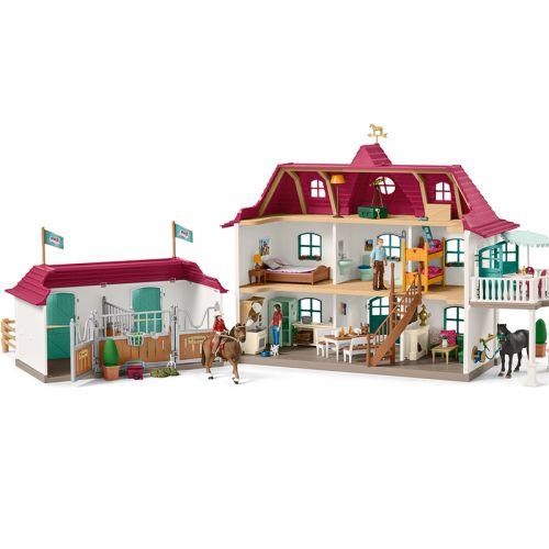 Granja de caballos grande con vivienda y estable , Schleich