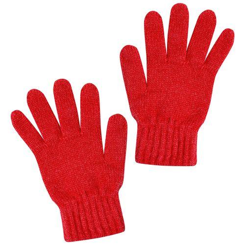 Guantes de lana para Niño en Color Rojo