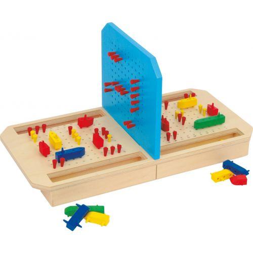 Hundir la flota - Juego de Mesa de madera