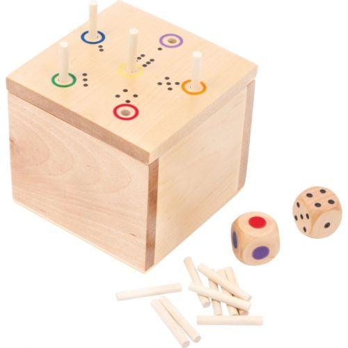 Juego de dados 6 en la caja