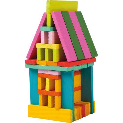 Juego de construcción de madera - 70 piezas