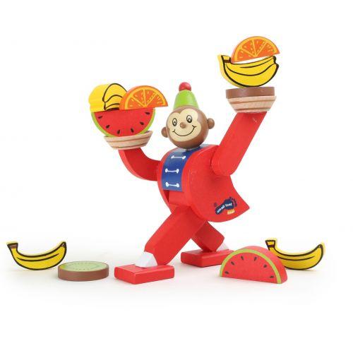 Juego de equilibrio, Mono de circo