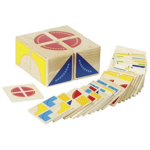 Juego de puzzle Kubus multicolor , Goki