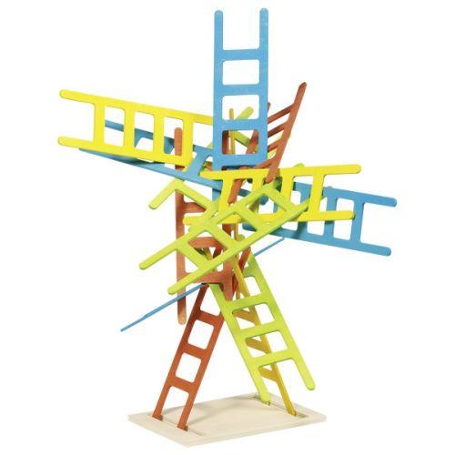 Juego de equilibrio, escaleras