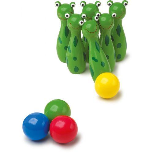 Juego de Bolos Rana - 10 piezas
