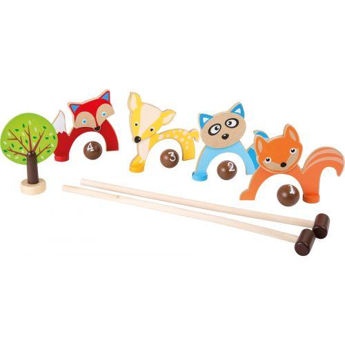 Juego de Croquet para Niños - Animales del Bosque