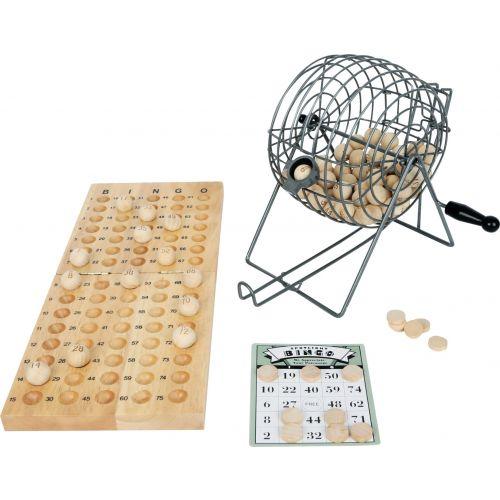 Juego del Bingo - Fabricado en Madera y Metal
