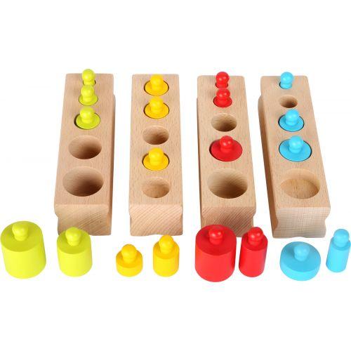 Juego Montessori - Encajar piezas