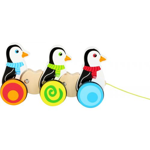 Juguete de arrastre Pingüinos