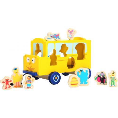autobus de madera
