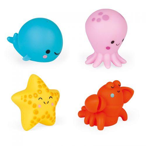 Animales de mar Lanzachorros , Juguetes de Baño, Janod