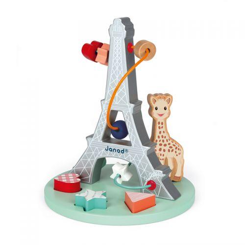 Laberinto de cuentas Madera Sophie la Girafe - Janod