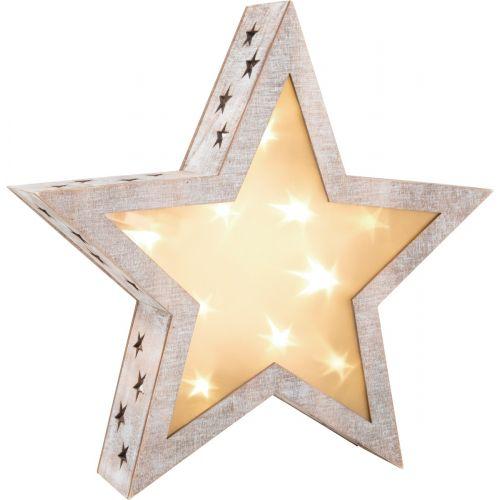 Lámpara Estrella Shabby Chic
