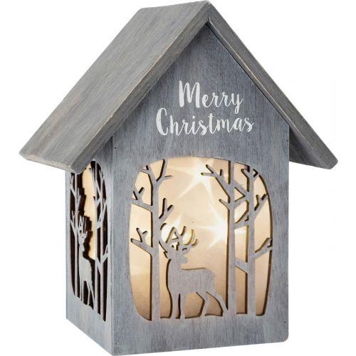 Lámpara Feliz Navidad, Shabby Chic