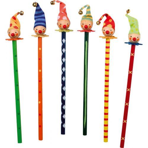 Lápices de colores Payaso , 6 unidades