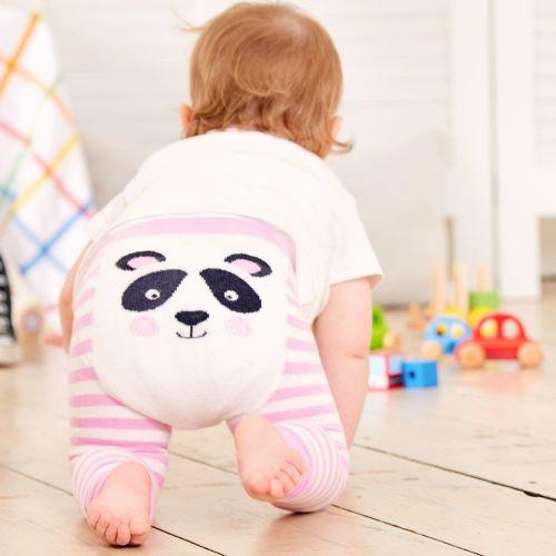 Leggings de punto para Bebé y Niña Panda