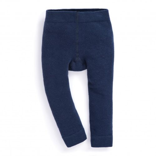 Leggins para niña con Forro Polar en Color Navy