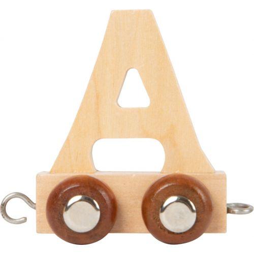 Tren de letras de madera - Crea tu tren con las letras que desees