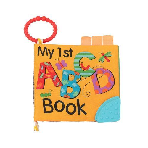 Libro educativo de tela con mordedor ABC