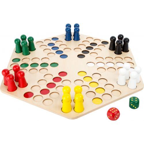 Ludo para 6 jugadores - A partir de 4 años