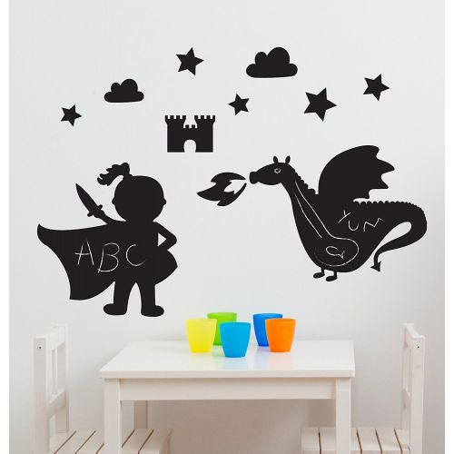 Magic Dragon Kingdom Chalkboard Room Kit